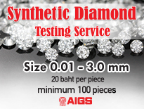 Synthetic Diamond Testing