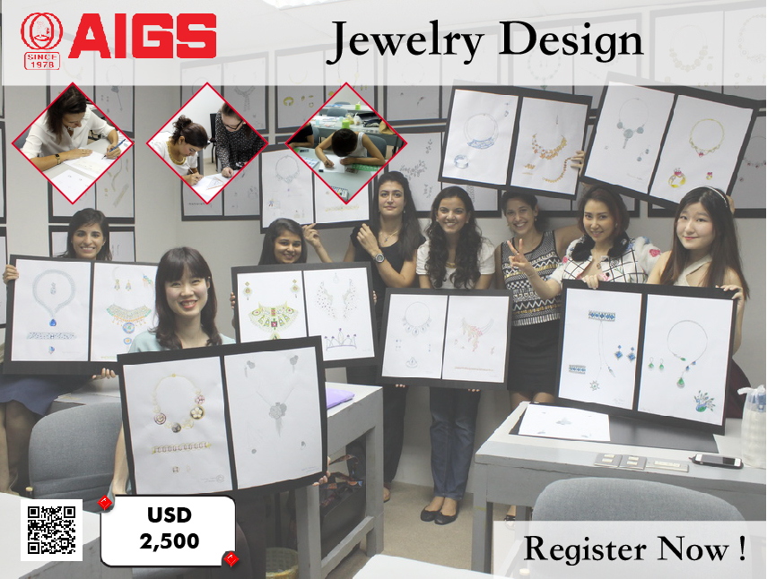 Jewelry Design, Course, drawing