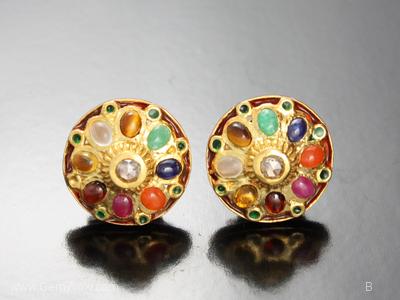 Myanmar Nine Gem Ring